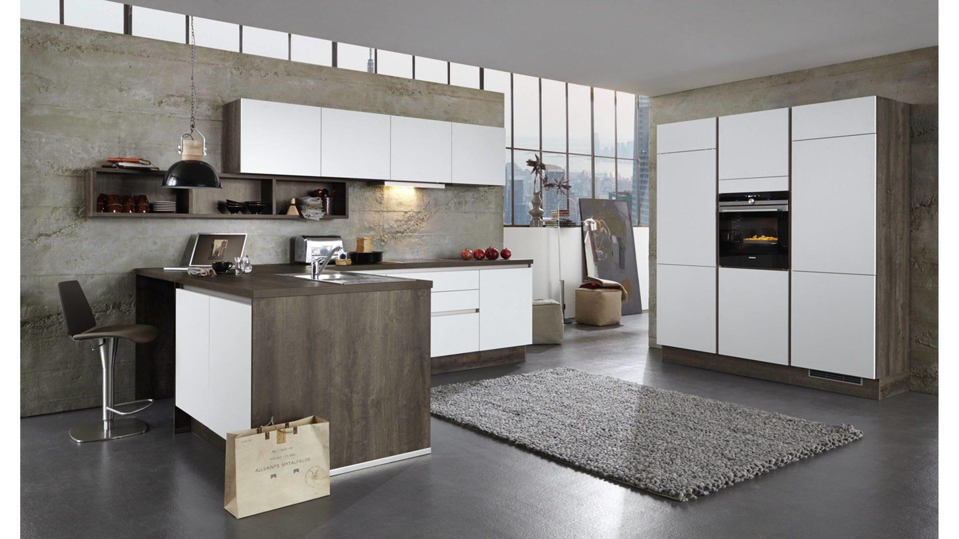 Hochwertig Einbauküche Brigitte Küchen Frickemeier   Culineo Aus Holz In Weiß Culineo L  Küche Mit SIEMENS