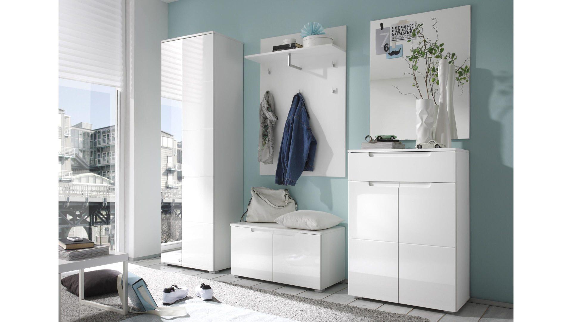 Wandgarderobe Holz Weiß.Einrichtungspartnerring Markenshops Garderobe Garderoben