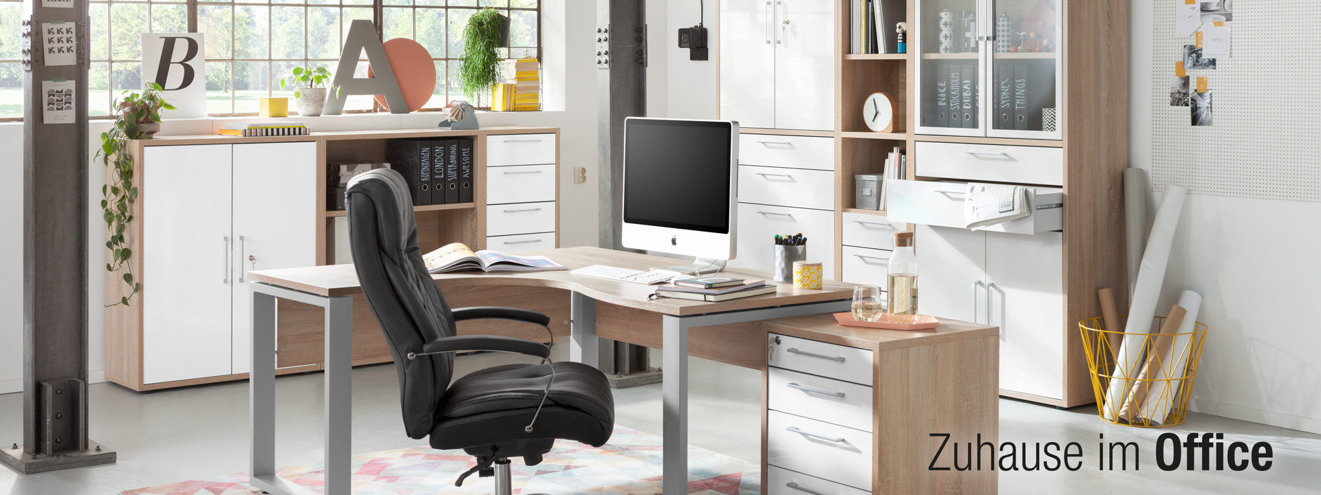 Home Office Zuhause im Office HLB 3840x1440px