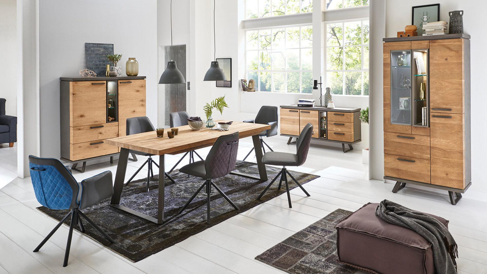 Wunderbar Industrial Style Wohnen Dekoration Von Woods & Trends Esstisch Im
