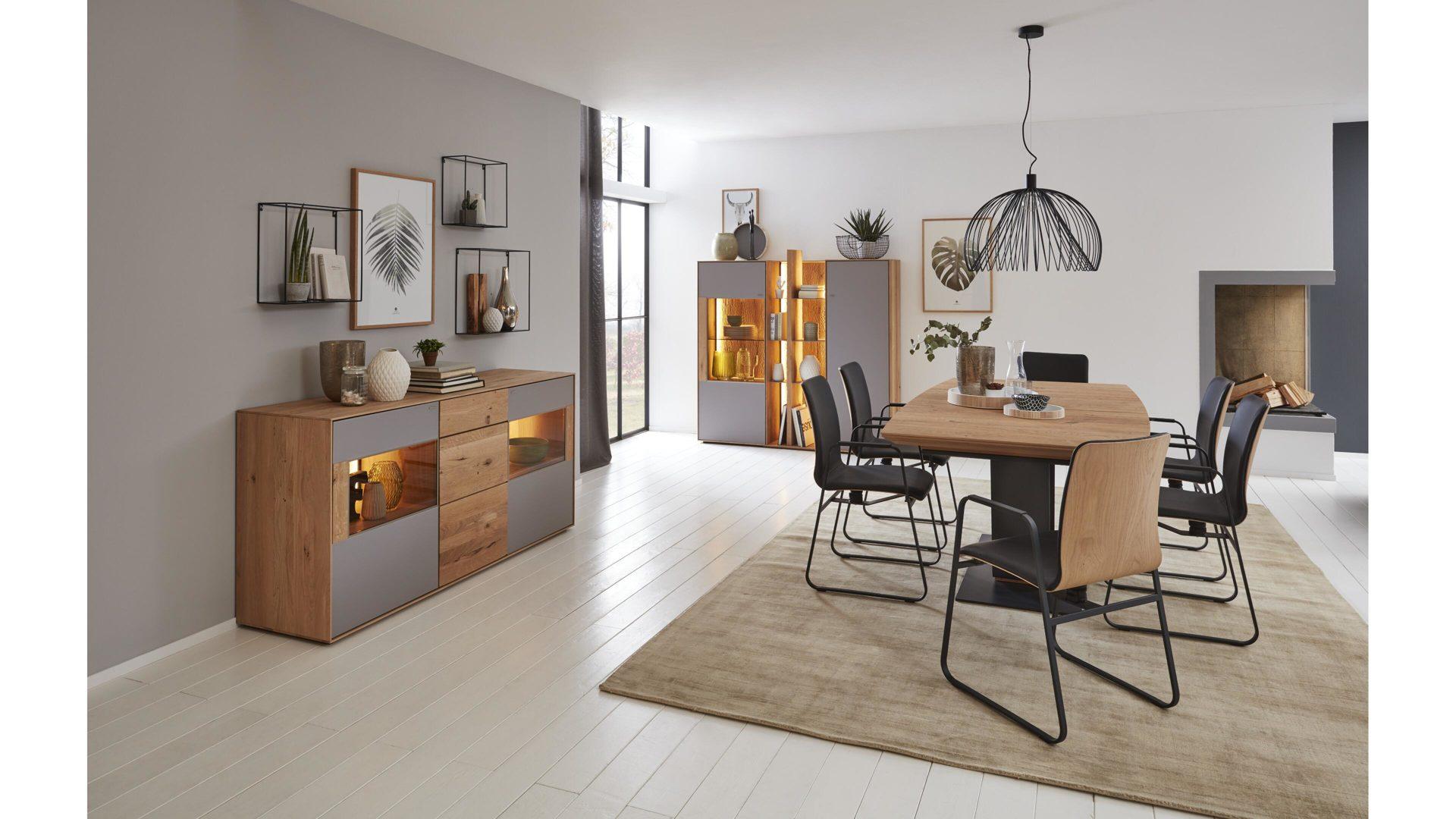 interliving wohnzimmer serie 2001 ausziehtisch esstisch 360 ansicht