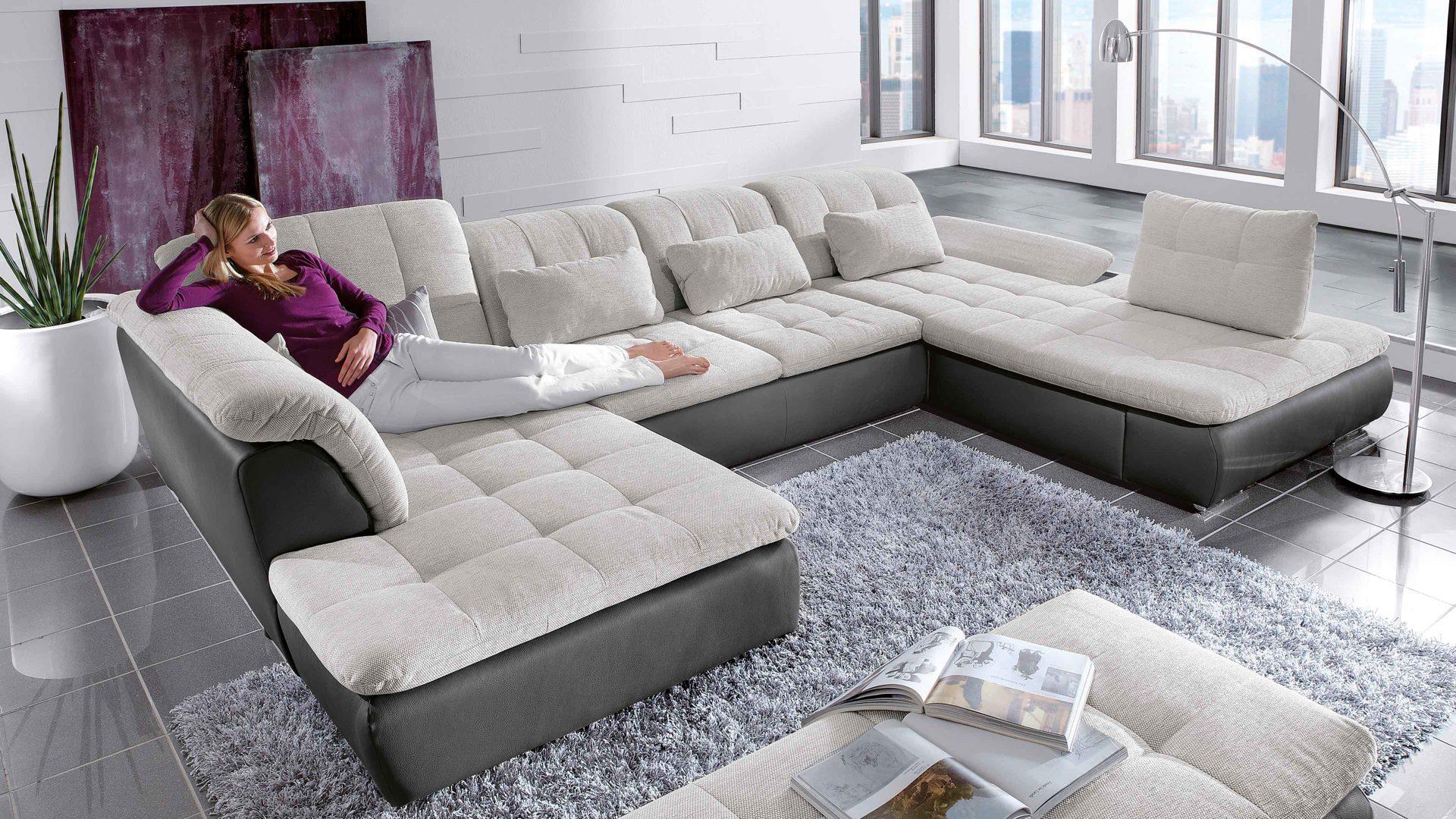 Couch u form  Einrichtungspartner Ring | Sofas | Ecksofa in U-Form für ...