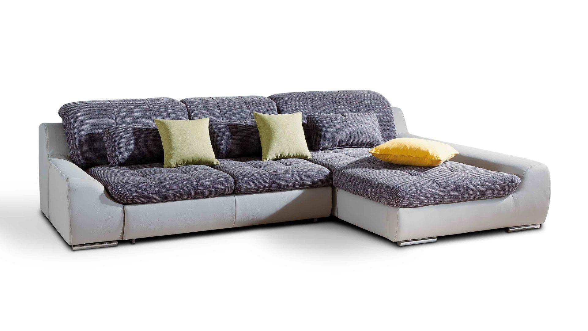 Eckcouch modern stoff  Einrichtungspartner Ring | Ecksofa - Eckcouch für komfortables ...