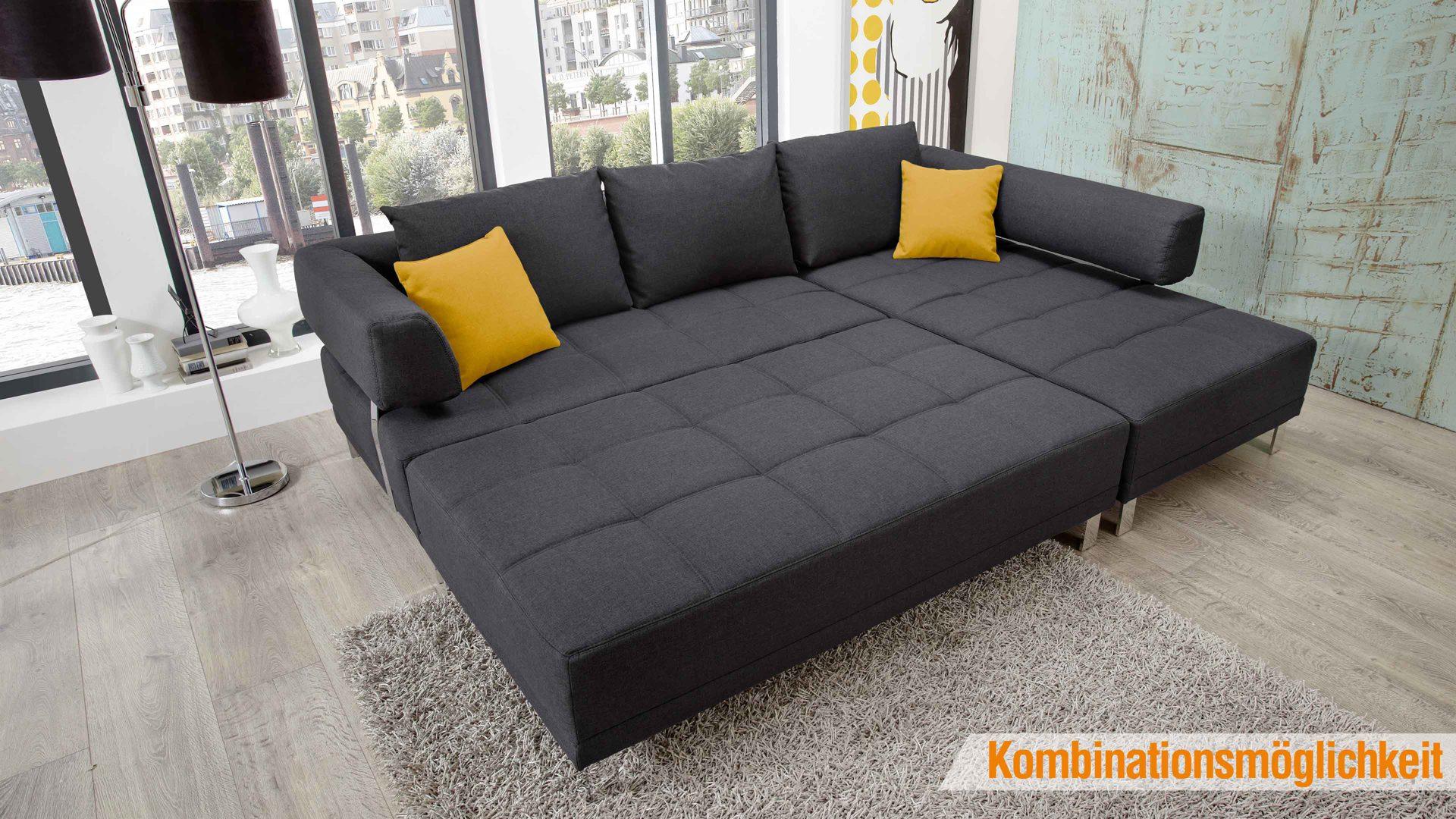 Einrichtungspartnerring Markenshops Wohnzimmer Lounge Ecksofa