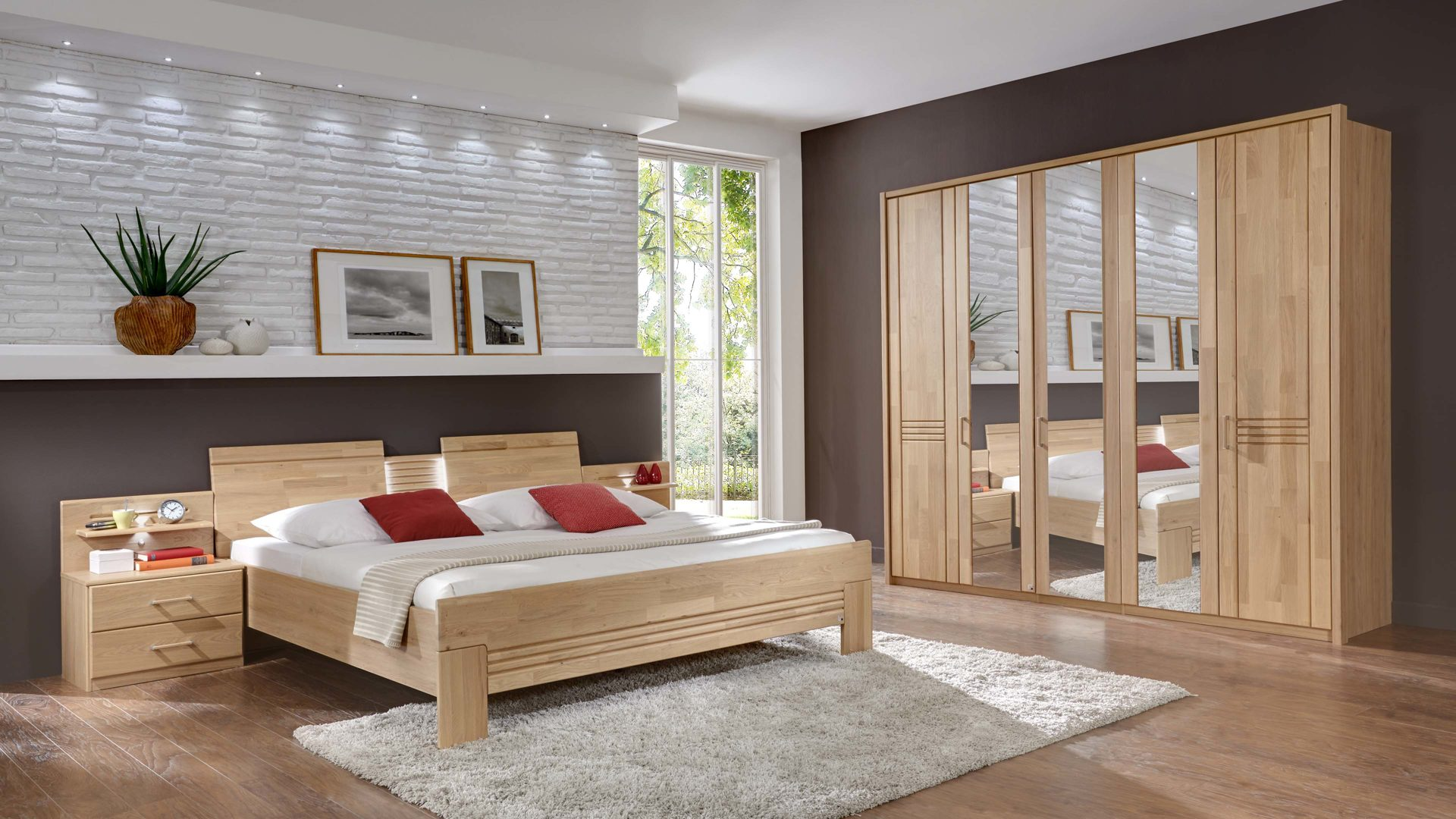 Einrichtungspartner Ring | Schlafzimmer mit Kleiderschrank und ...