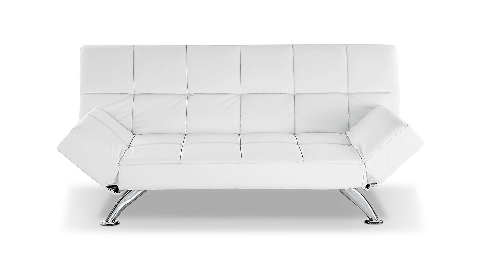 Schlafcouch weiß  Einrichtungspartner Ring   Sofa mit Schlaffunktion als moderne ...