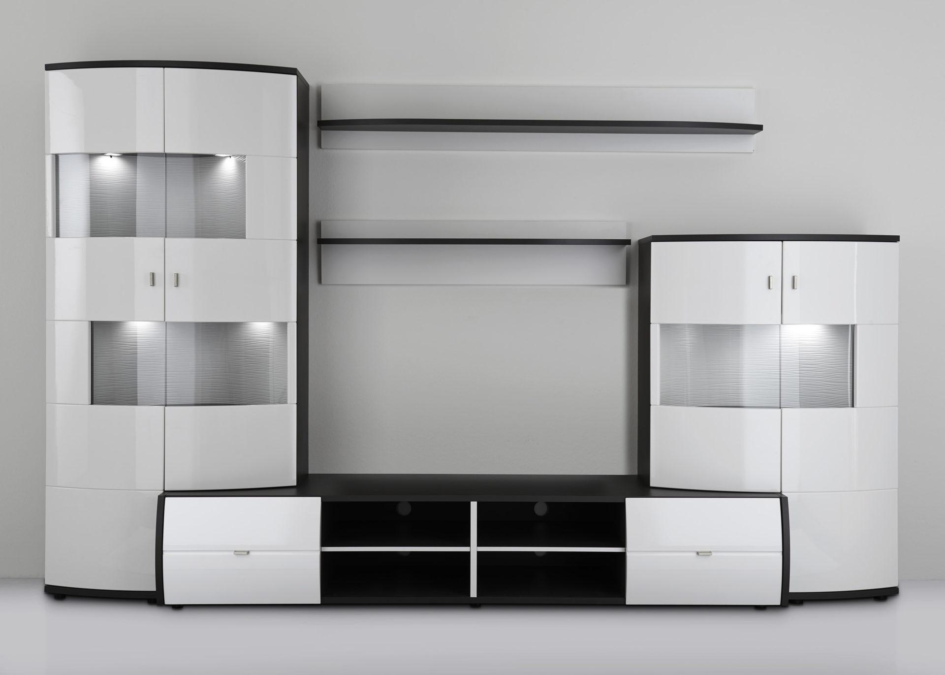 Wohnzimmer Weis Modern   Badezimmer & Wohnzimmer Wohnzimmer Grau Modern