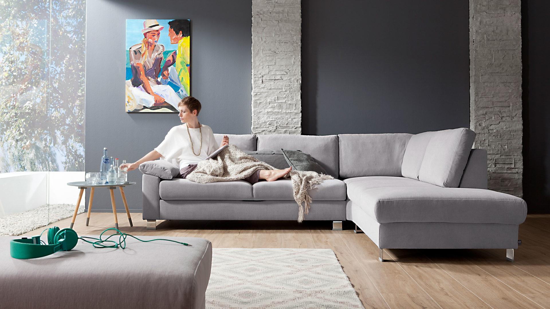 Moderne eckcouch  Einrichtungspartner Ring | Möbel A-Z | Couches + Sofas | Ecksofas ...