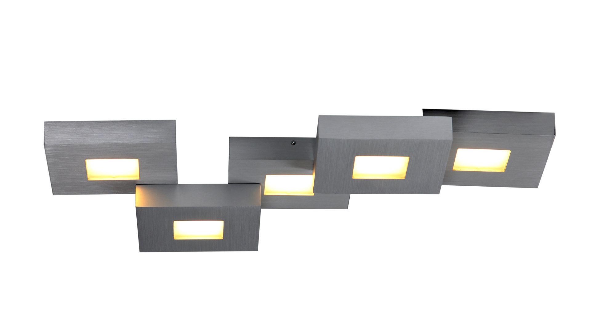 Einrichtungspartner Ring | Räume | Flur + Diele | BOPP LED Deckenleuchte  Cubus | Bopp, Aus Metall, In Metallfarben, BOPP LED Deckenleuchte Cubus, ...