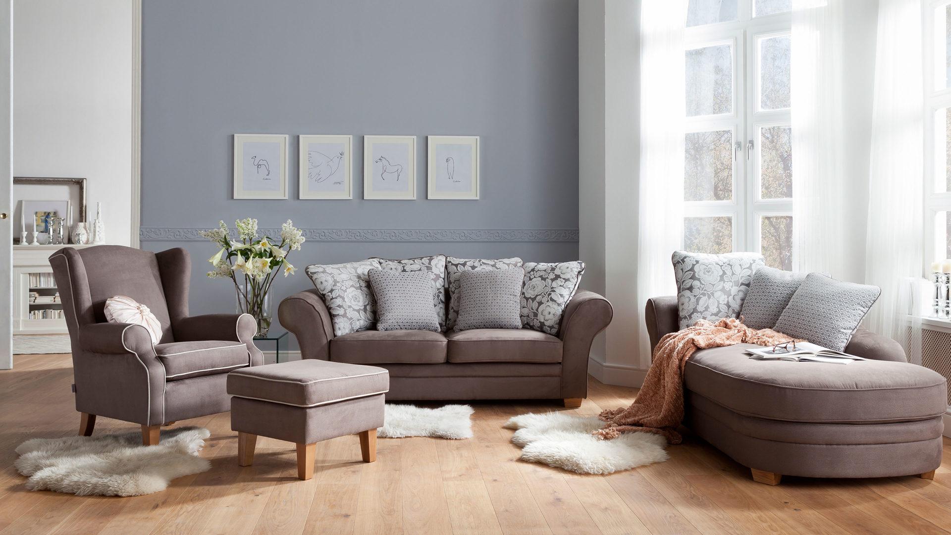 Schlafzimmer Grau Beige: Wandgestaltung im schlafzimmer ...