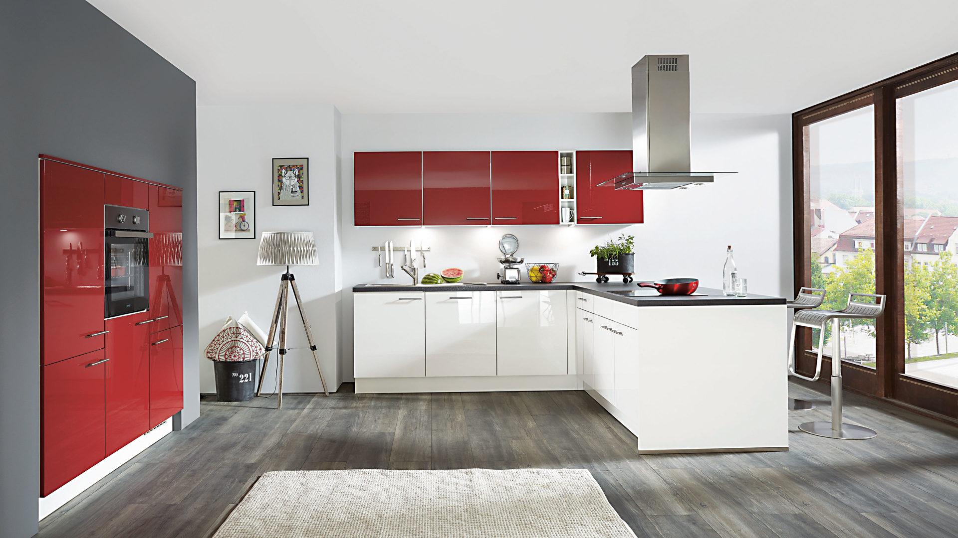 Einbauküchen schwarz  Einrichtungspartner Ring   Markenshops   Einbauküchen ...