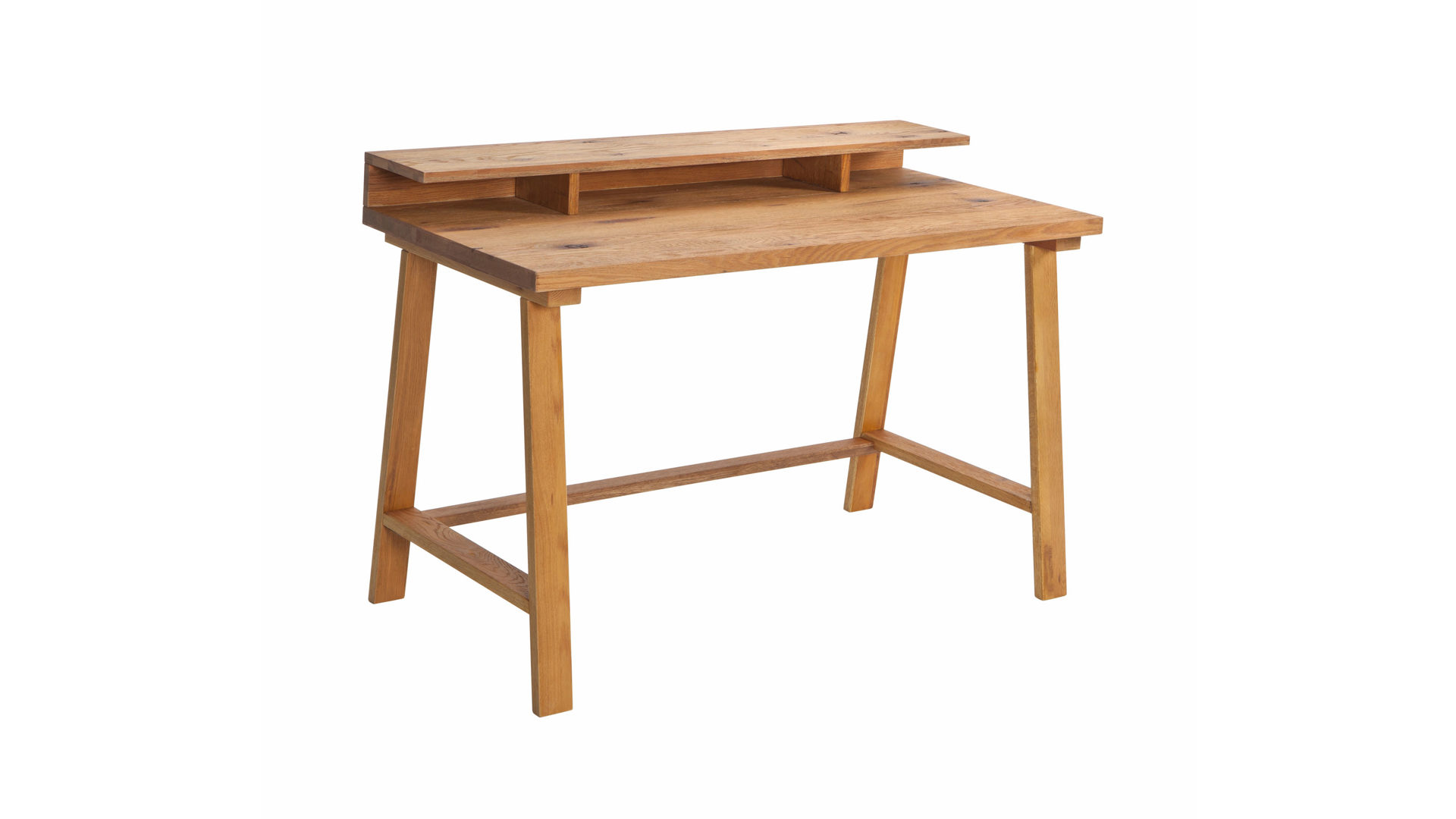 Schreibtisch holz dunkel  Einrichtungspartner Ring | Massivholz-Schreibtisch für Home-Office ...