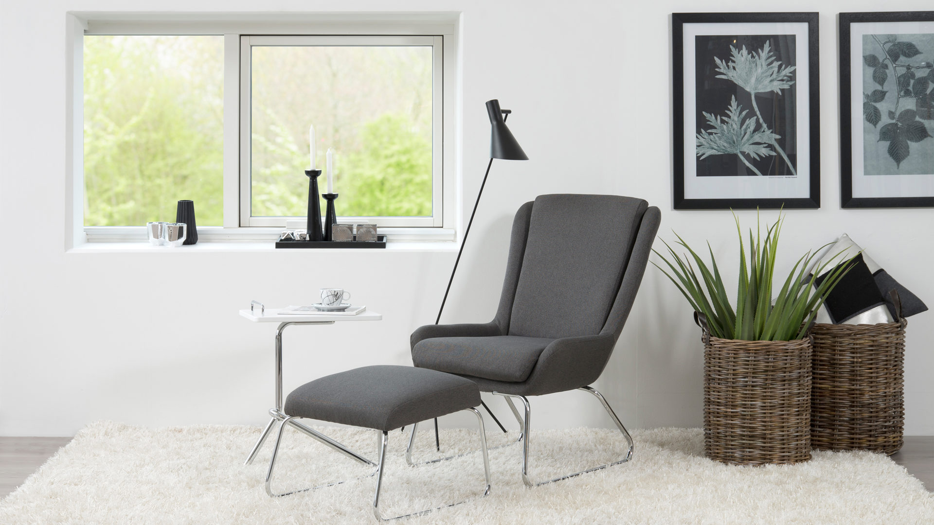 Best Lounge Sessel Mit Hocker Als Loungembel Mit Komfort With Lounge Sessel  Guenstig